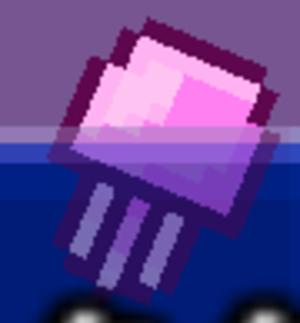 4 pink kurage