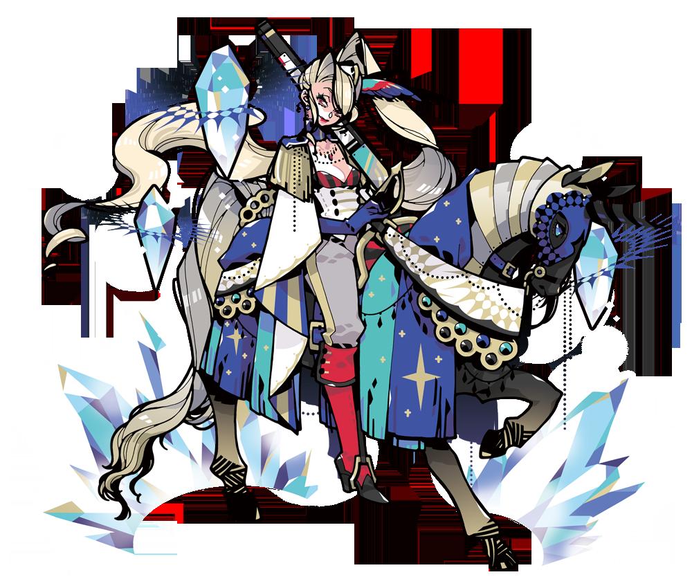 【麗しの女騎兵】特異型ナージェジタ