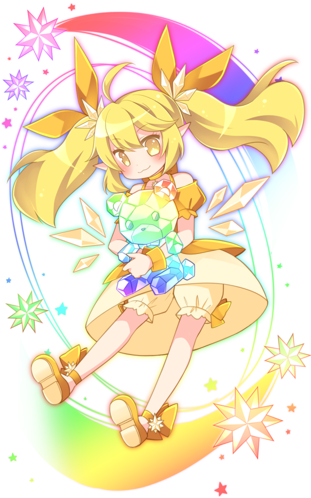 黄スーパー進化妖精