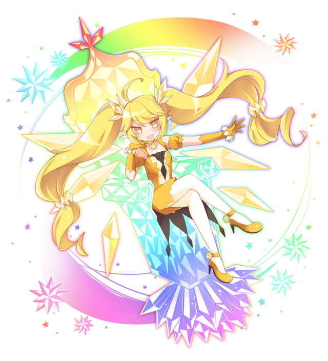 黄ウルトラ進化妖精