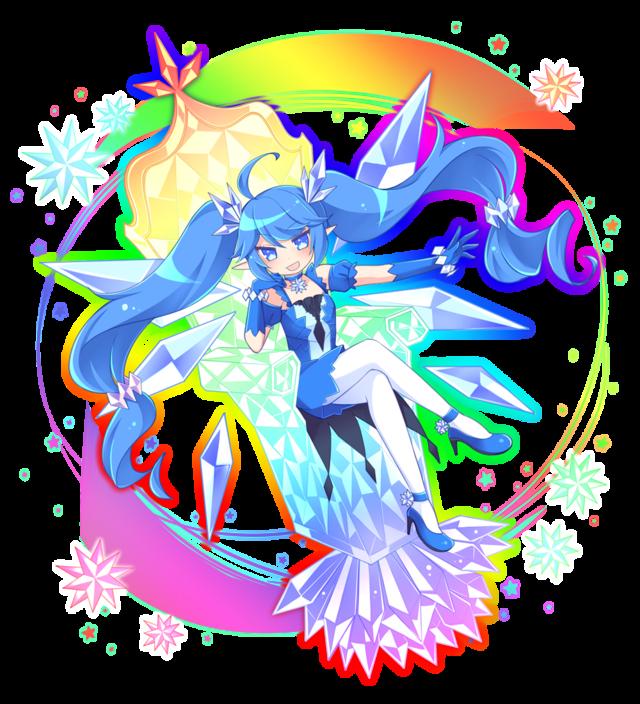 青ウルトラ進化妖精