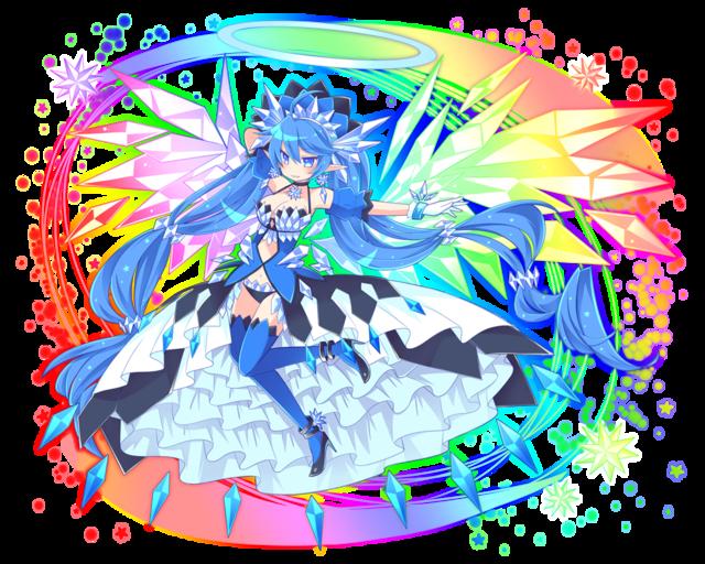 青ミリオン進化妖精