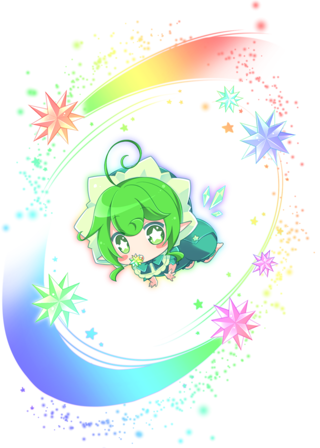 緑進化妖精
