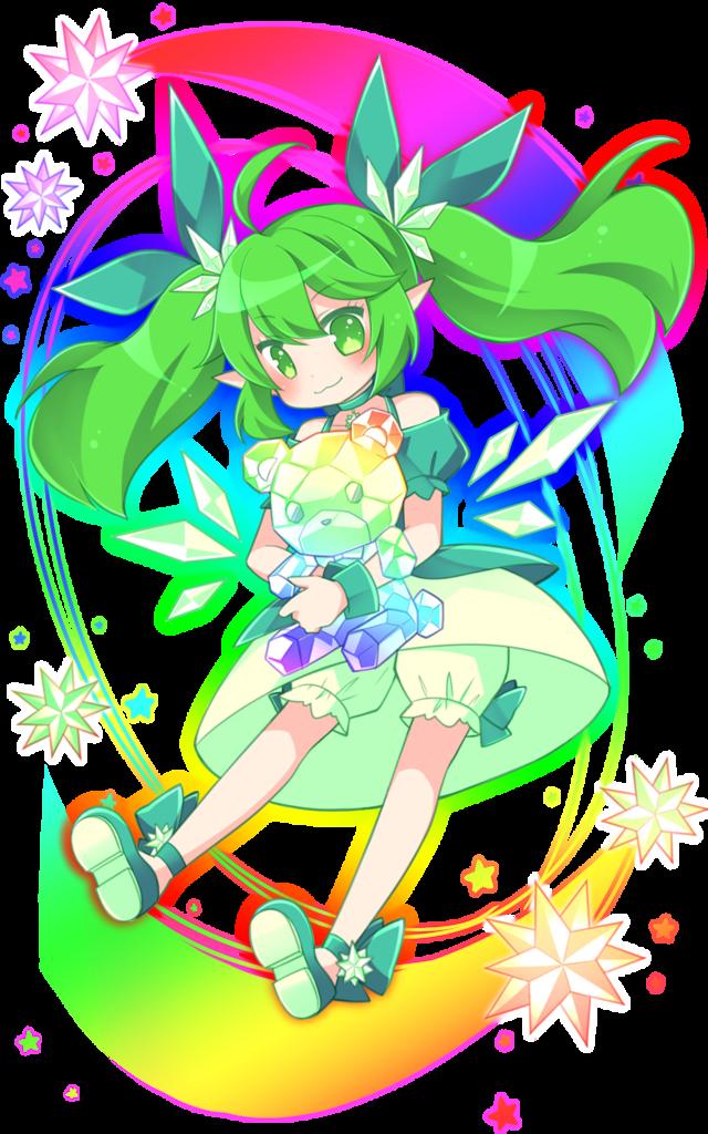 緑スーパー進化妖精