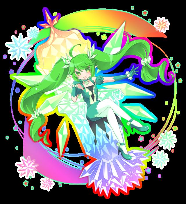 緑ウルトラ進化妖精