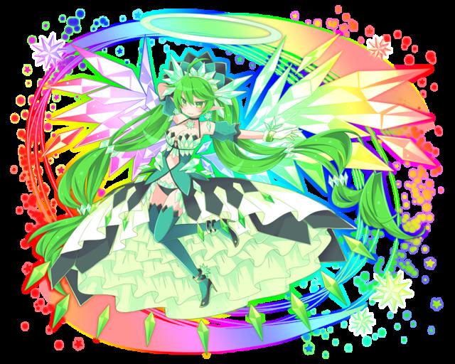 緑ミリオン進化妖精
