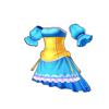 ピュアドレス(青)