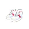 運動靴(赤)
