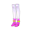 ピュアショートブーツ(ピンク)