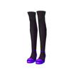 ビビッドアイドルヒール(紫)