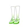 スクールガールスニーカー(緑)