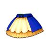 ファーストステージスカート(青)