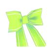 バックリボン(緑)