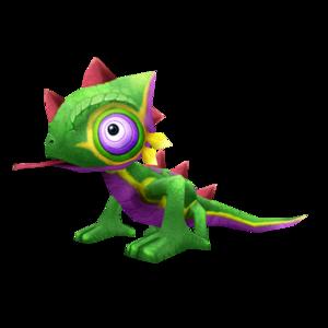 chameleon_green