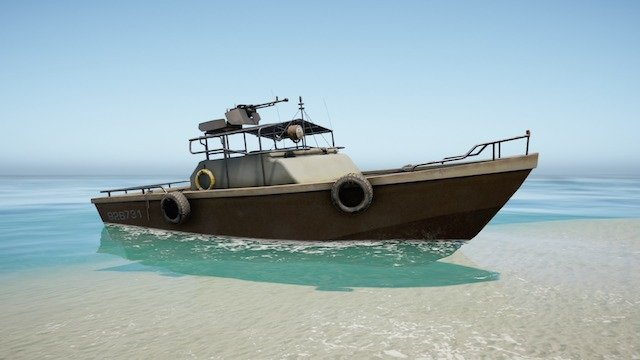 15.パトロールボート