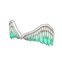 エンジェルフェザー(緑)
