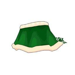 サンタスカート(緑)