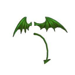デーモンフェザー(緑)