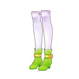 ピュアショートブーツ(緑)