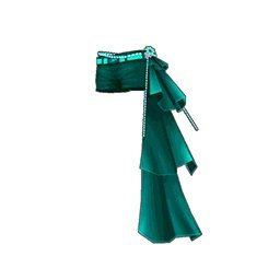 フラワーロックショートパンツ(緑)