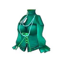 フラワーロックトップス(緑)