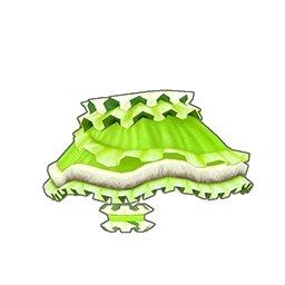 フリルキャットスカート(緑)
