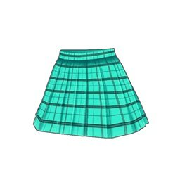 ルーキーアイドルスカート(緑)