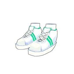 運動靴(緑)