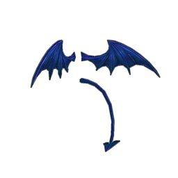 デーモンフェザー(青)