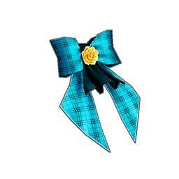 レフトサイドリボン(青)
