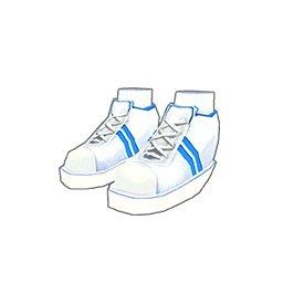 運動靴(青)