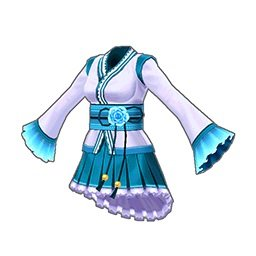 アマテラスドレス(青)