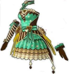 スウィートバレンタインドレス(緑)