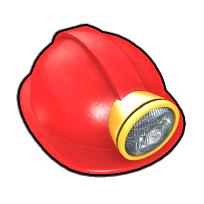 洞窟探険家のヘルメット