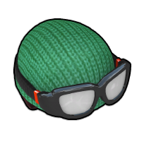 登山家のニット帽