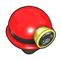 先生のヘルメット