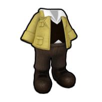 偉才な考古学者の服