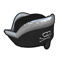伝説の海賊の帽子