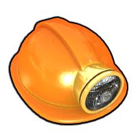オレンジヘルメット