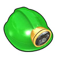 グリーンヘルメット