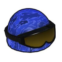 指揮官のヘルメット