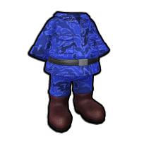 指揮官の迷彩服
