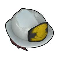 女性救助隊員のヘルメット