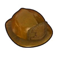 消防団長のヘルメット