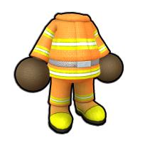消防団長の防火服