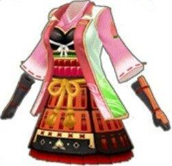 (赤)桃鎧衣