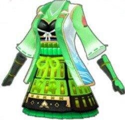 (緑)桃鎧衣