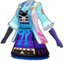 (青)桃鎧衣
