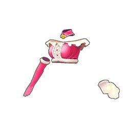 フリルキャットチューブトップ(ピンク)