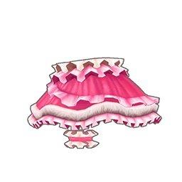 フリルキャットスカート(ピンク)